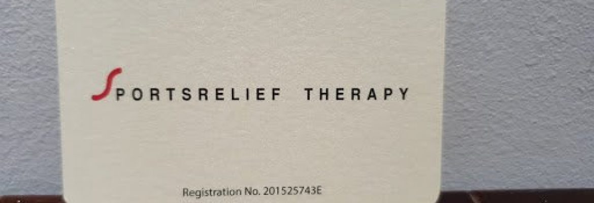 SportsRelief Therapy